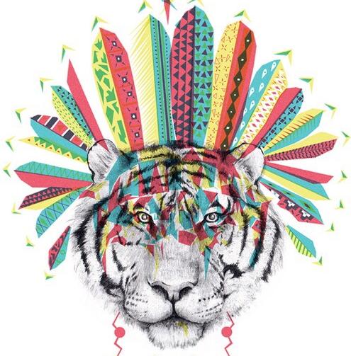 tigre tribal