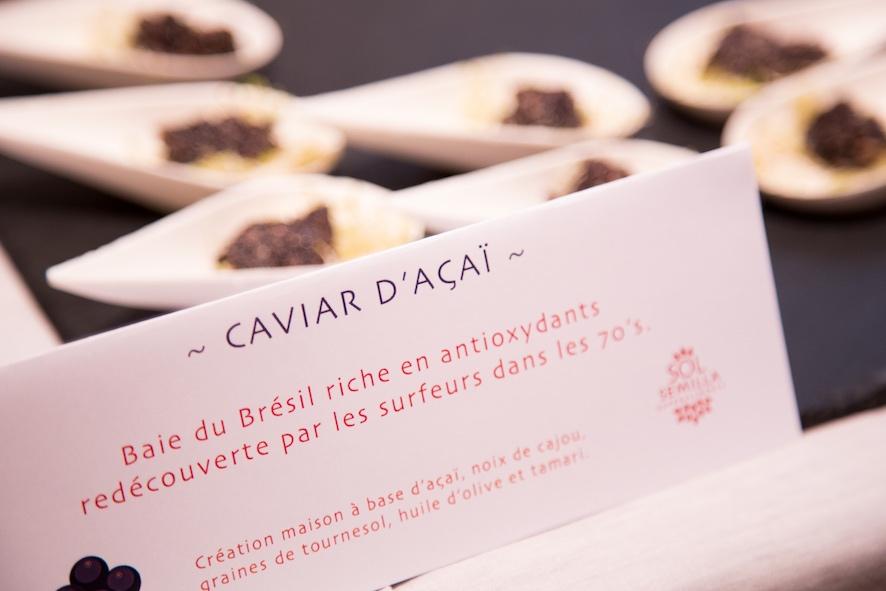 Caviar Açaï - Traiteur Bio, vegan Sol Semilla